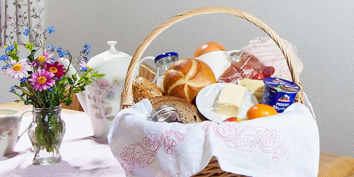 Frühstück in Ramsau