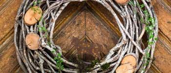 Ferienwohnungen Hasenlehen Eingangstür